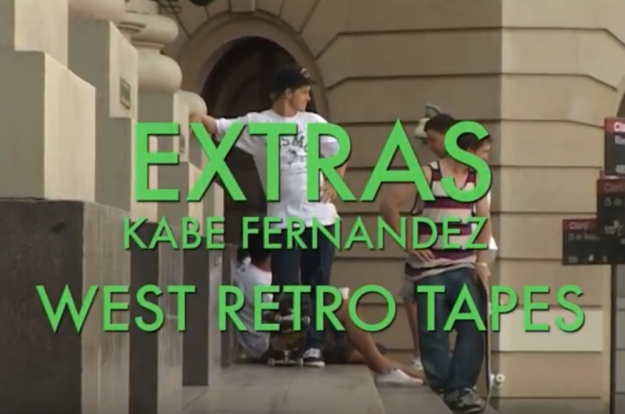 kabe fernandez skate west retro tapes extras